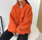 タンブルアノラック ファーアノラック アノラック 韓国ファッション