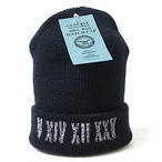 V XIV XII XXV WATCH CAP【NAVY】