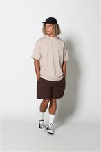 edit clothing Barrel heavy weight pocket big tee(バレルヘビーウエイトポケットビックT/ベージュ)