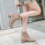 【shoes】イングランド風レトロリボン結びシューズ25058739