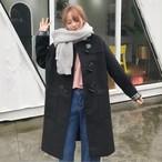 コート ダッフルコート 長袖 オーバーサイズ