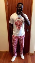 African mask(Tシャツ+パンツセット)