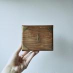 【錨の木箱】 開閉式  vintage