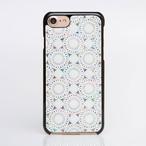 iPhoneXS/XSmax対応★iPhone/Xperia/Galaxy スマホケース(鞠・黒カバー)[螺鈿アート・天然貝ケース]