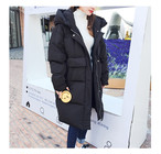 フード付き 中綿 ロング丈 コート
