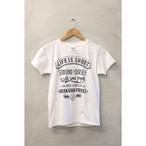 LCR オリジナルTシャツ(人生瞬間)ホワイト