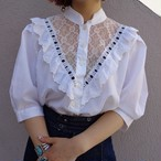 European tyrol blouse/ヨーロピアン チロル ブラウス
