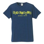 SIX LOUNGE ロゴ Tシャツ ネイビー