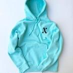X boy hoodie MINT BLUE