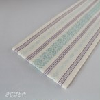 正絹 博多織りの伊達締め 雪