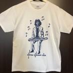 SHINTARO SAKAMOTO BAND T-Shirts (グレー/白)
