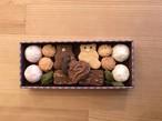 クッキーギフト【板チョコ缶ビター】