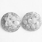 seashell confetti earring[e-805]