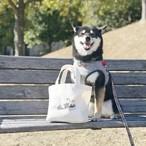 柴犬柄のランチトートバッグ(お散歩バッグ)