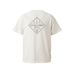 LOCALS ONLY Tee - Vanilla white / Gray