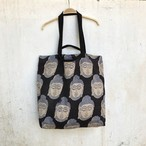 saruche 南インドのブロックプリント ブッダトートバック