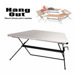 HangOut (ハングアウト) FRT Arch Table Single (Stainless Top) アーチ テーブル シングル ステンレス トップ アウトドア 用品 キャンプ グッズ テント ファニチャー サイト 組み合わせ 家具