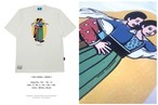 "Tシャツ 101wordwol ""You skate I skate"""