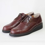 steer blucher shoes/BLK,DBR/l.o.b/ l.o.b18-1L3T04 【即納】
