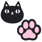 【猫3兄弟】フェルトコースター2Pセット