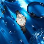 Kimio AF-Z1008 Crown(White) 腕時計 レディース