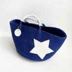 [ 限定即納 ] BC White Star Bag / ML / blue