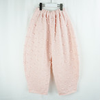 POPCORN KNIT BIG PANTS