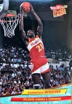 NBAカード 92-93FLEER Dominique Wilkins #6 HAWKS