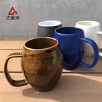 法皇窯 高橋直樹 砥部焼 たる型マグカップ コップ 陶器
