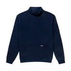 St. Michael Turtleneck Sweatshirt(Evening Blue)