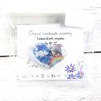 【みやぶ】ハートの空~虹~/ブローチ