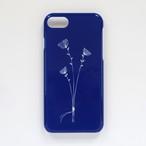 3本の花束 ネイビー 北欧スマホケース/スマホカバー iPhone/android/Galaxy/Xperia/AQUOS
