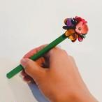 【オンラインショップ限定価格】No.217お花ボールペン(花色マルチカラー)