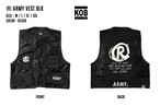 (R) ARMY VEST BLK