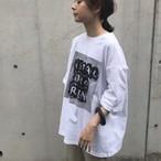 unscrum JAMeen フォトプリントTシャツ 【20SS】