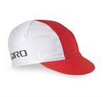GIRO ジロ CLASSIC  COTTON CAP フリーサイズ White / Red
