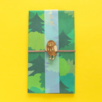 新商品《鳥/ふくろう》ご祝儀袋 フクロウ 梟 koyoriya ZOO アニマル 金封 のし袋 封筒