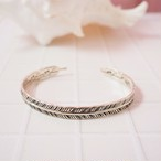Feather Bangle Large【SILVER925】  18380437