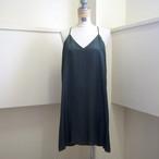 【hippiness】cupro  Vneck semi long camisole(olive drab) /【ヒッピネス】キュプラVネックセミロングキャミソール(オリーブドラブ)