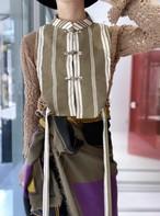 French fabric original vest(China button)
