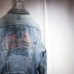 70's LEE FORD PAINT DENIM JKT