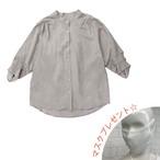 袖デザインブラウス [ B-0017 ]