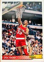 NBAカード 92-93UPPERDECK Otis Thorpe #140 ROCKETS