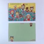 POST CARD「お花畑合唱団」no.98