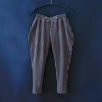 Stripe pants  XL(130-140)サイズ  Black&Gray