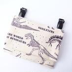 移動ポケット 恐竜化石ホワイト