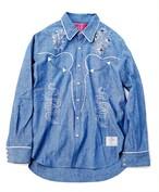 EFFECTEN(エフェクテン) Dungaree Western shirt