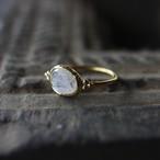 Jaipur gem リング -moon stone- #9