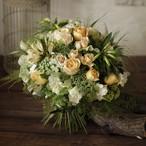 「きれいな半球形の花束」教材