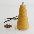 【天然草木染・山桃・桑の枝 (YE)】綿糸 (118g)